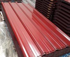 Atap Spandek Warna Merah