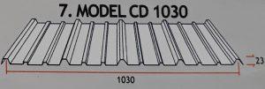 Atap Zincalume CD 1030