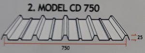 Atap Zincalume CD 750