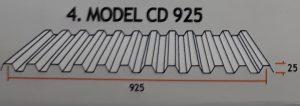 Atap zincalume CD 925