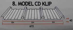 Atap Zincalume CD KLIP