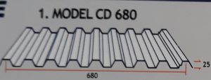 Atap Zincalume CD 680