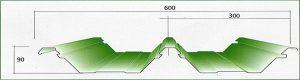 Atap Fumira BL 600 – Atap Zincalume
