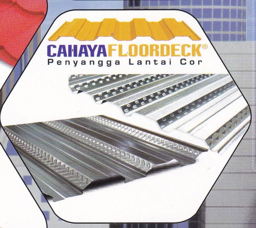 FLOORDECK / BONDEK/DECKING,CAHAYA FLOORDECK