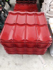 Genteng Metal Warna Merah