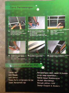 Plafon One PVC