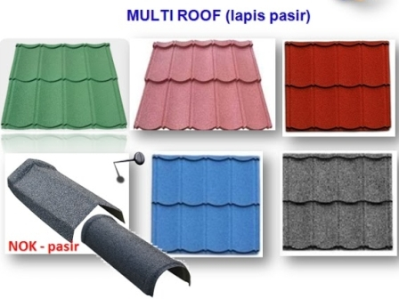 Jual Genteng Metal Multi Roof