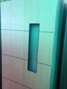 Pintu Double Triplek Kaca 2