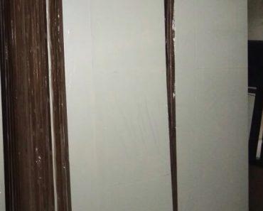 Pintu Double Triplek Putih 2