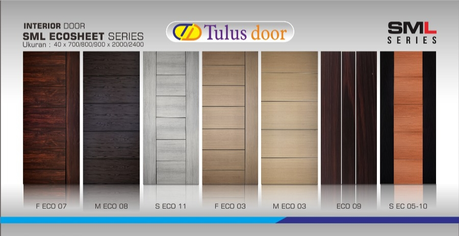 Pintu TDLSML Eco Sheet Series