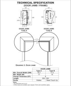 PINTU WPC BOARD DUMA DOOR,TECHNICAL SPESIFICATION.