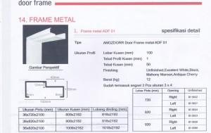 Metal frame ADF 01