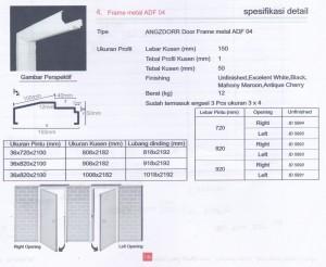 Metal frame ADF 04