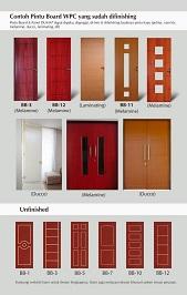 Brosur pintu WPC